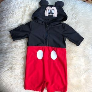 Disney's Mickey Mouse unisex hooded outfit.